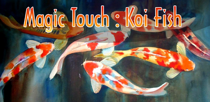 Magic Fish Wallpaper Magic Touch Koi Fish 1