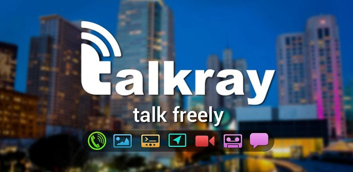 Talkray - Free Calls and Text (1)