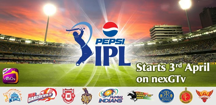nexGTv- Mobile TV Live TV IPL