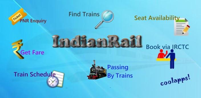 Indian Rail Train & IRCTC Info