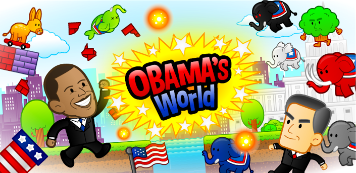 Super OBAMA's World