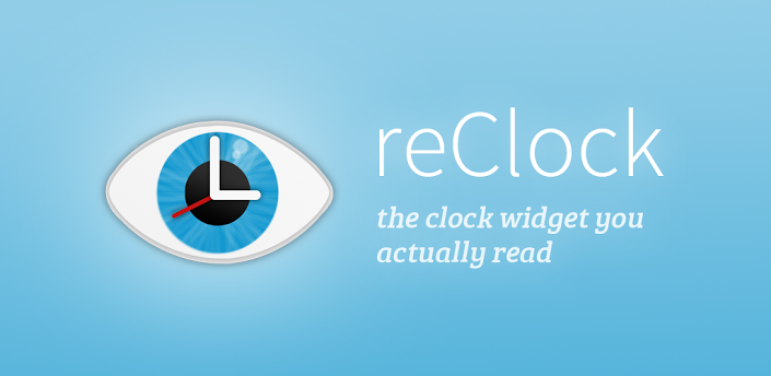 reClock Text Clock Widget (1)