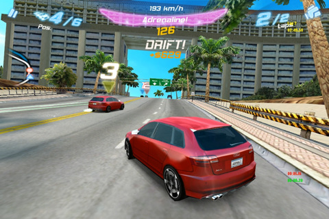 Asphalt™ Audi RS 3  ipa iPhone, iPad, iPod Free Game
