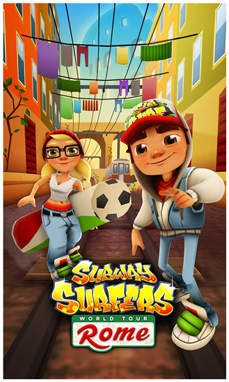 Subway Surfers Rome 2 Apk Android Free Game Download Feirox