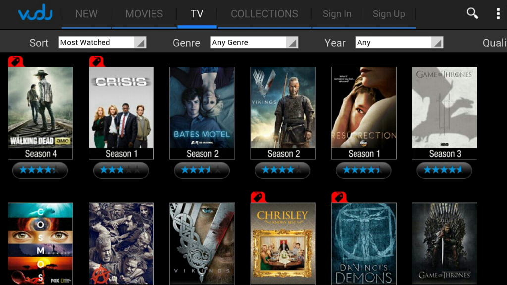 VUDU Movies and TV  apk Android Free App Download | Feirox