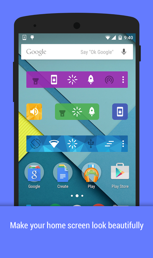 Action Widgets  apk Android Free App Download | Feirox