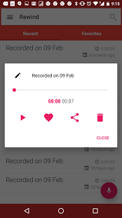Rewind Reverse Voice Recorder apk Android Free App Download