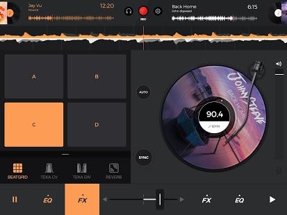 edjing 5 DJ Music Mixer Studio apk Android Free Game Download [com